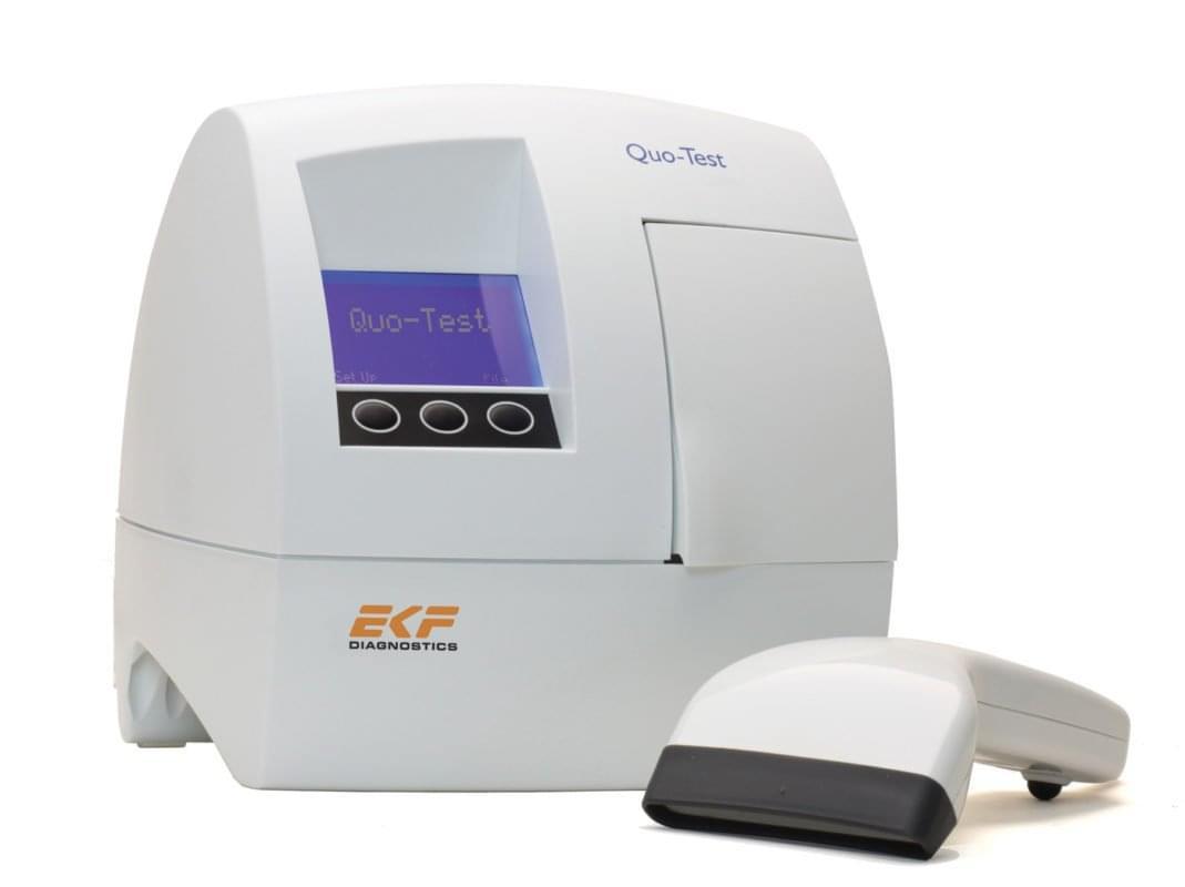 Анализатор для определения-гликозилированного гемоглобина Quo Test