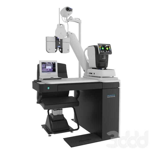 Уникальное Рабочее место офтальмолога HRT-7000